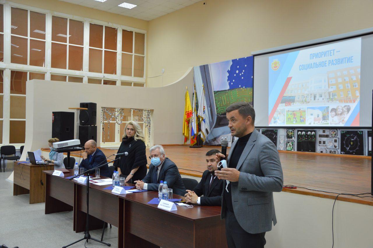 Заместитель Председателя Кабинета Министров Чувашской Республики Алла Салаева посетила АО «Завод «Электроприбор» 3